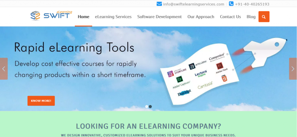 best elearning content providers