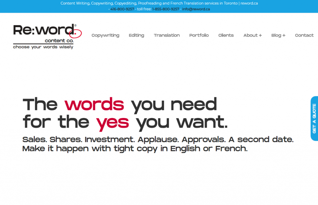 2021 03 18 11 56 51 Content Writing Copywriting Copyediting Proofreading and French Translation s