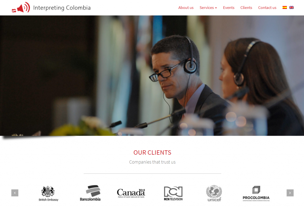 2021 03 19 14 40 55 Interpreting Colombia  The best conference interpreters in Colombia