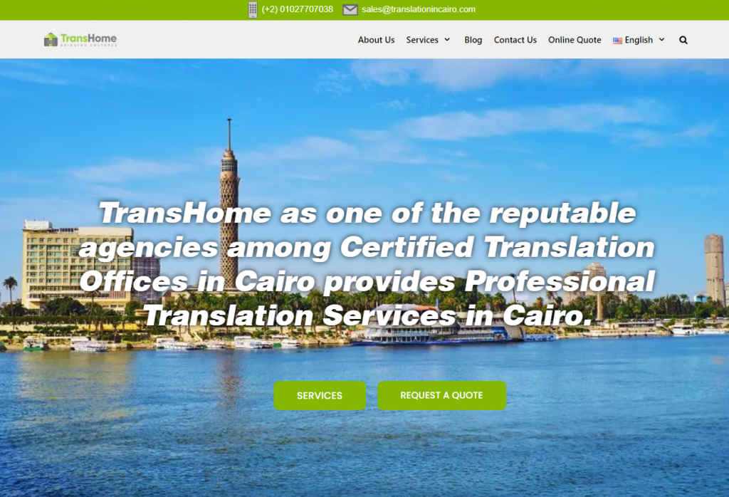 2021 03 19 15 27 31 Professional Translation Services in Cairo   TransHome