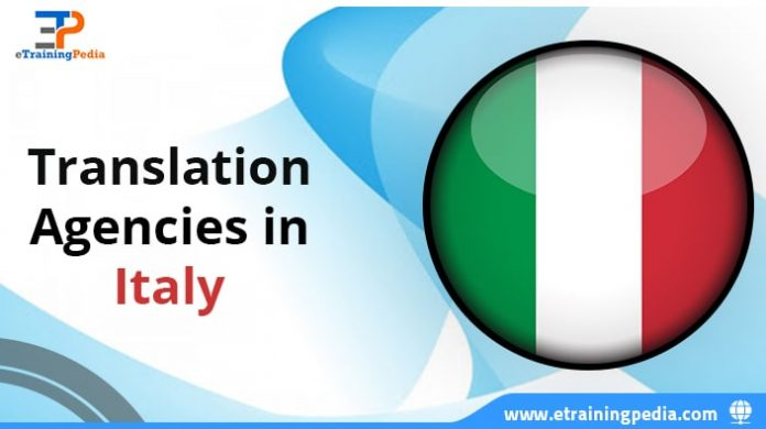 Translation Agencies in Italy