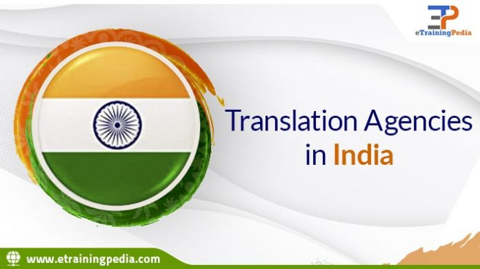 Translation agencies in India