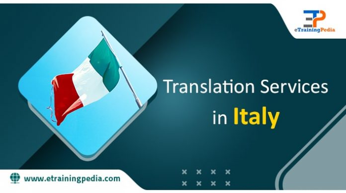 Translation Services in Italy